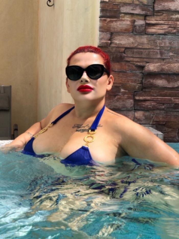 Ich geniesse meinen Luxus-Wellness-Urlaub ;-)
