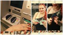 Pensionisten die Bankomatkarte geplündert und angezündet