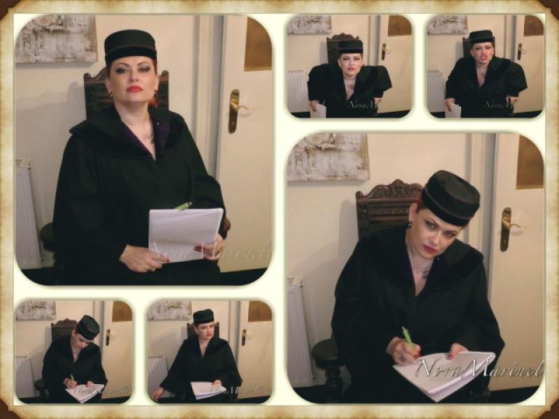 Militärstrafgericht Wien, Oberrichterin Dr. Marinelli