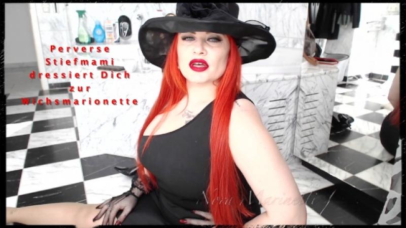 Sexy Stiefmami erzieht Dich zu Ihrer Wichsmarionette