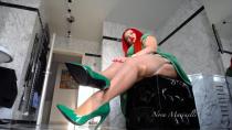 Unwiderstehlich in Nylons und High Heels